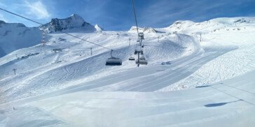 View on the Kitzsteinhorn Glacier | © Zell am See-Kaprun Tourismus