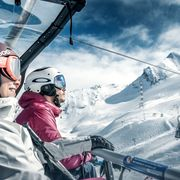 Skiing with the comfort of the new lifts   © Kitzsteinhorn