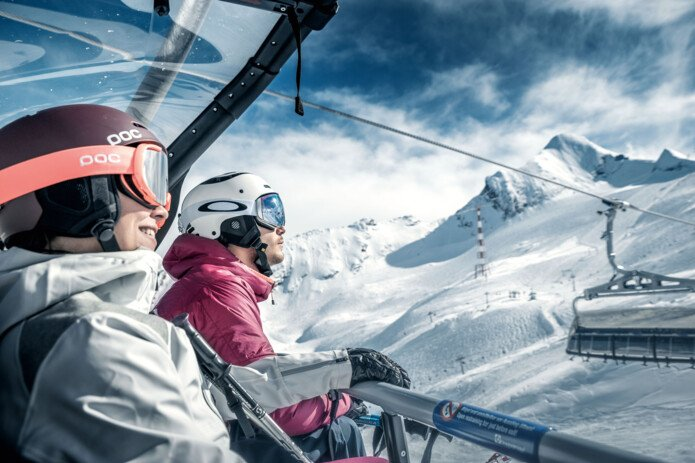 Skiing with the comfort of the new lifts | © Kitzsteinhorn