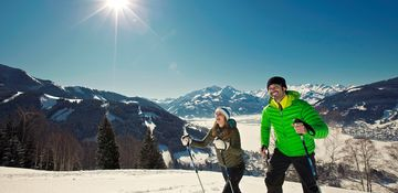romantic time for 2 while hiking in the winter | © Martin Steinthaler