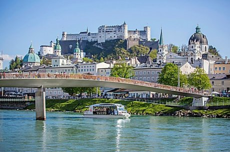 Salzburg city with castle | © salzburghighlights.at