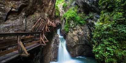 summer excursion destination Gorge, Austria | © Zell am See-Kaprun Tourismus