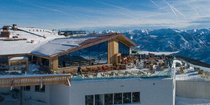 Ski hut and mountain restaurant in Zell am See-Kaprun | © Schmittenhöhebahn AG