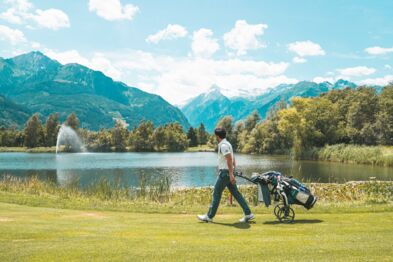 36-hole Zell am See-Kaprun Leading Golf Course in Austria | © Johannes Radlwimmer