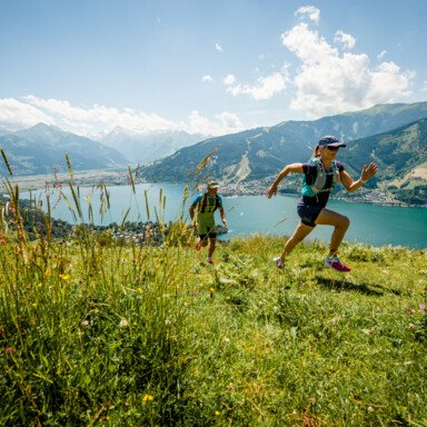 Trails in the middle of the alpine landscape in Zell am See-Kaprun | © Jakob Edholm