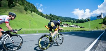 bicycling and exercising | © Zell am See-Kaprun Tourismus