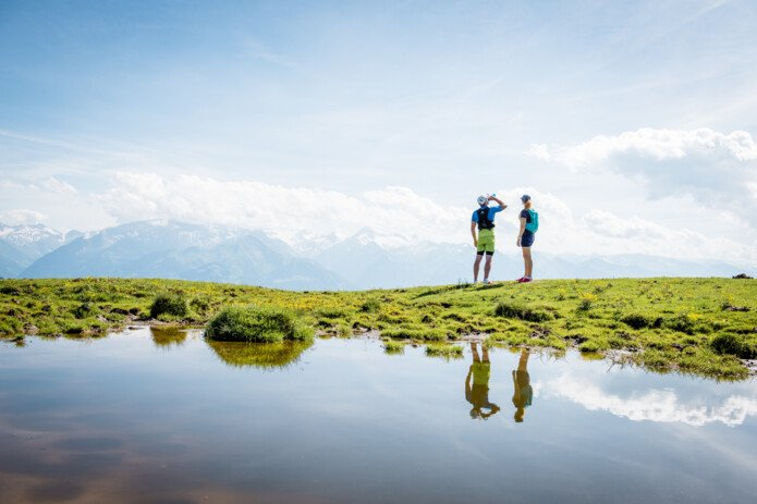 Trailrunning Tour for all sportsmen in Salzburg with great mountain view   © Jakob Edholm