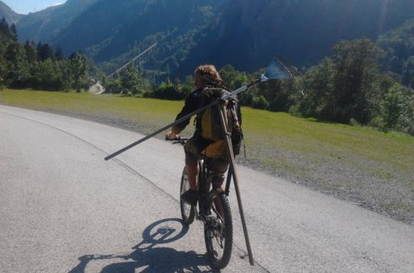 Tools for preparing the freeride trails   © privat