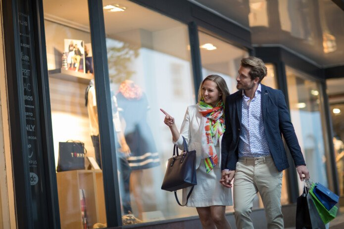 Fashion shops in the city Zell am See | © Zell am See-Kaprun Tourismus