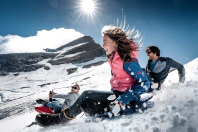 Unique experience area with snow in summer | © Kitzsteinhorn