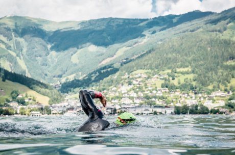 Swimming, biking and runnin in impressive landscapes | © Zell am See-Kaprun Tourismus / Jakob Edholm
