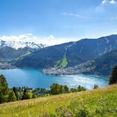 Summer view over the region Zell am See-Kaprun | © Faistauer Photography