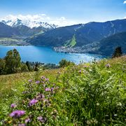 Views on glacier, mountains and lake in Zell am See-Kaprun | © Zell am See-Kaprun Tourismus