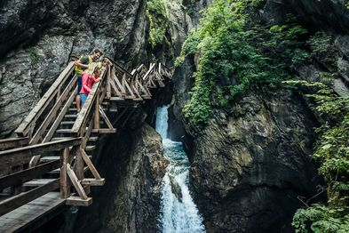 Sigmund Thun Gorge as an adventure for the whole family   © Zell am See-Kaprun Tourismus