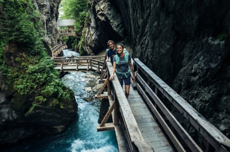 Sigmund Thun Gorge - an adventure for everyone | © Zell am See-Kaprun Tourismus