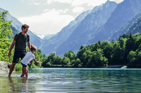 Klammsee for families: water fun and playground | © Zell am See-Kaprun Tourismus