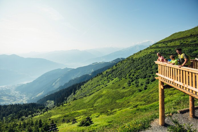 Enjoy the view on the Schmittenhöhe | © Zell am See-Kaprun Tourismus