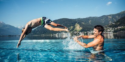 Entertainment for everyone at lido Thumersbach | © Zell am See-Kaprun Tourismus