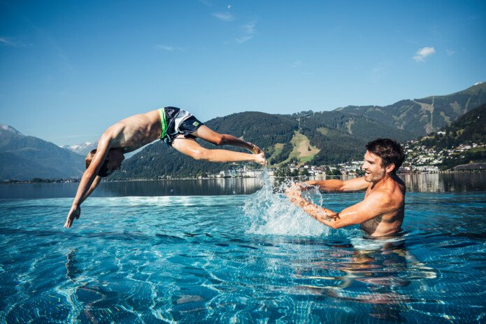 Entertainment for everyone at lido Thumersbach   © Zell am See-Kaprun Tourismus