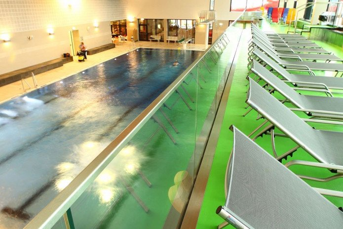Indoor swimming pool and sauna in Zell am See-Kaprun | © Freges Zell am See