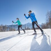 cross country ski track with connection to the cross-country ski trail Pinzgauer Saalachtal | © Faistauer Photography