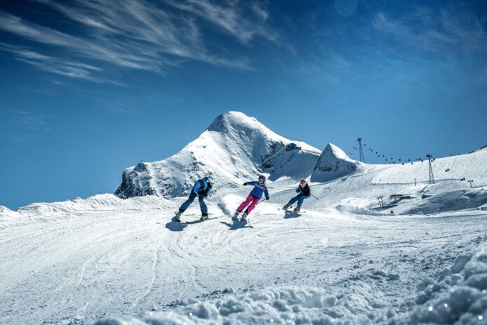 fun for the whole family on the Egale Line | © Kitzsteinhorn