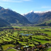 Aerial of the golf course Zell am See | © Golfclub Zell am See-Kaprun