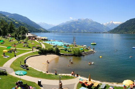 Lido at Lake Zell | © Zell am See-Kaprun Tourismus GmbH