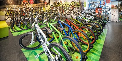 bicycle rental in Zell am See-Kaprun | © Sport Bründl