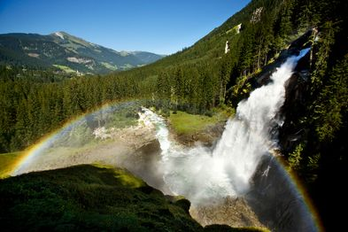 holiday excursion destination Zell am See-Kaprun: waterfalls Krimml | © wasserfaelle-krimml.at