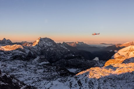 Zell am See-Kaprun from above | © Marko Roth