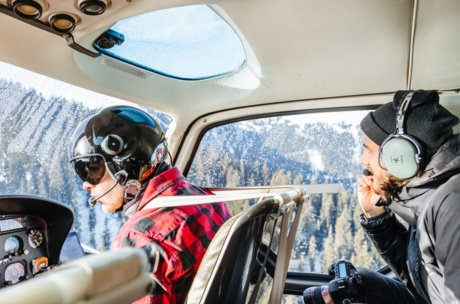 helicopter flight in Zell am See-Kaprun | © Marko Roth