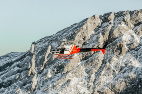 helicopter flight with Hermann Eder | © Marko Roth