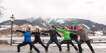 winter yoga for the guests   © Zell am See-Kaprun Tourismus