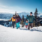 Snow Shoeing with friends in Zell am See-Kaprun | © Zell am See-Kaprun Tourismus GmbH