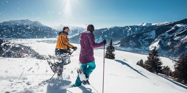 Winter holidays with snow shoe hikes in Austria | © Zell am See-Kaprun Tourismus GmbH