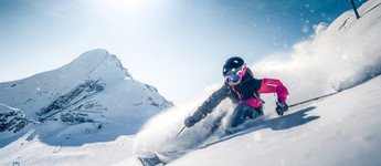 Skiing pleasure on the glacier Kitzsteinhorn in Austria | © Gletscherbahnen Kaprun AG