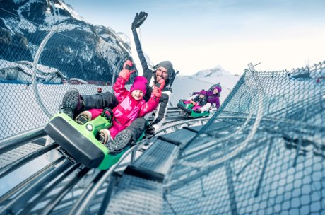 Tobogganing in winter and in summer: with Maisiflitzer in Zell am See-Kaprun | © Gletscherbahnen Kaprun AG
