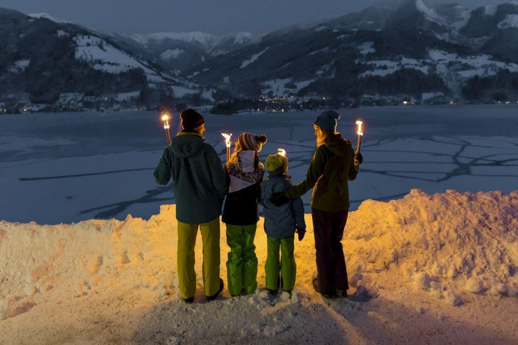Guided Torchlight Walk in Zell am See