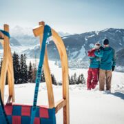 Tobogganing with family and friends in your winter holiday | © Zell am See-Kaprun Tourismus GmbH