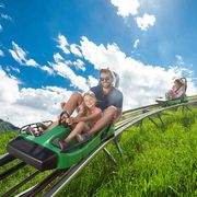 Alpine Coaster with playground in Kaprun | © Kitzsteinhorn