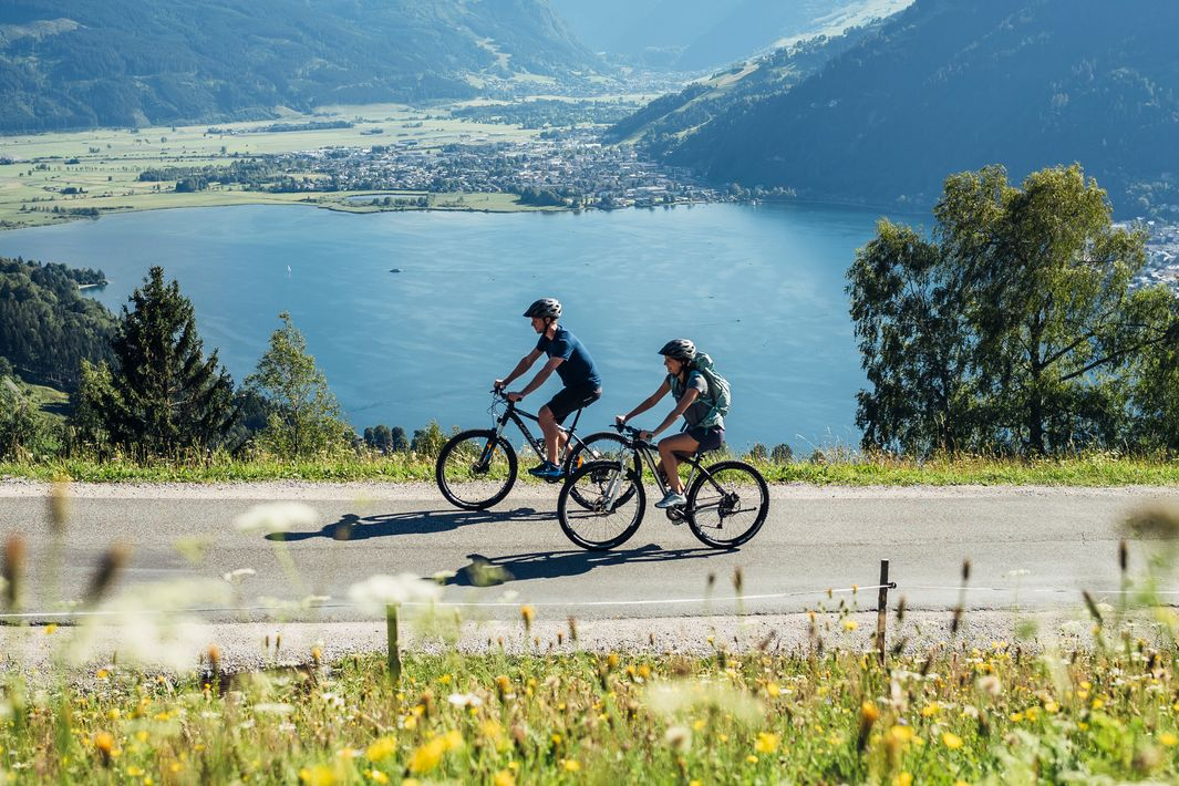 Mitterberg ride with view over lake Zell | © Zell am See-Kaprun Tourismus