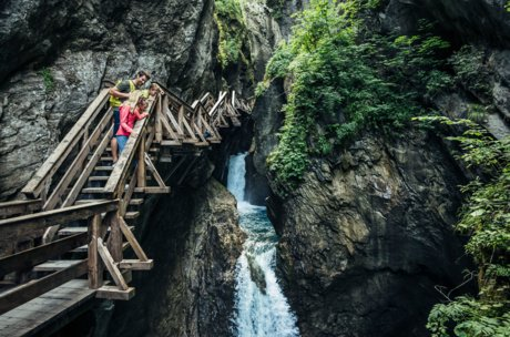 Sigmund Thun Gorge as an adventure for the whole family | © Zell am See-Kaprun Tourismus