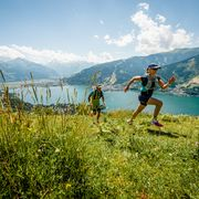Trails inmitten alpiner Landschaft in Zell am See-Kaprun | © Jakob Edholm