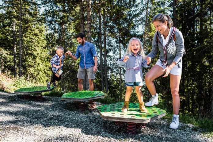 Schmidolins Baptism of fire as adventure path for kids | © Schmittenhöhe