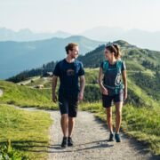 Hikes of all types of difficulties on the Schmittenhöhe | © Zell am See-Kaprun Tourismus