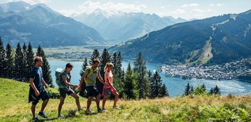 Hiking adventures in the mountains of Zell am See | © Zell am See-Kaprun Tourismus
