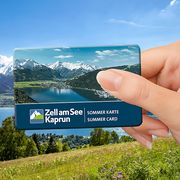 Summer Card including many attractions for free | © Zell am See-Kaprun Tourismus
