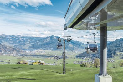 Cable car - gondola in Zell am See-Kaprun | © Dominik Wartbichler