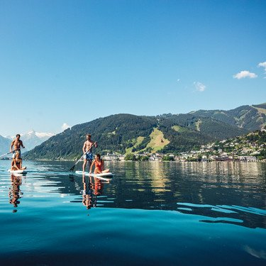 Water fun at SalzburgerLand | © Zell am See-Kaprun Tourismus